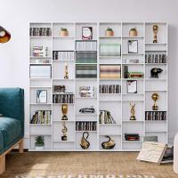 Libreria blanca salon