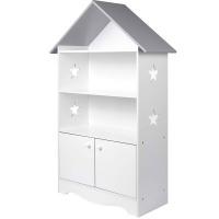 Estantería libros niños blanca