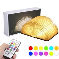 Libro lámpara LED con mando