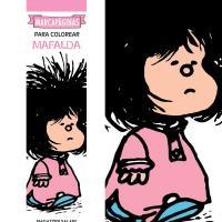 Marcapáginas para colorear Mafalda