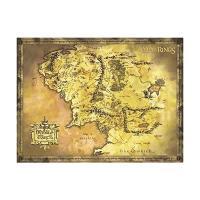 Mapa grande El Señor de los Anillos