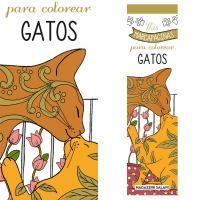 Marcadores de libros para colorear: gatos