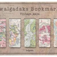 Marcapáginas magnético vintage