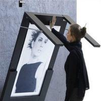 Escritorio marco foto plegable