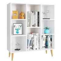 Estanterias blancas para libros y decoracion