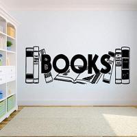 Mural vinilo libros