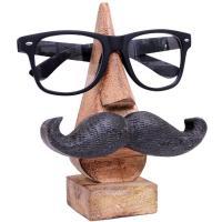 Soporte para gafas bigote