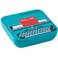 Notas adhesivas máquina de escribir