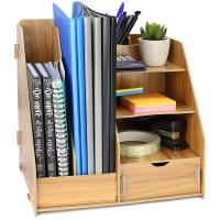 Organizador de madera para escritorio