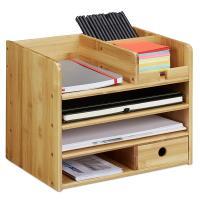 Organizador madera escritorio