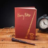 Pack bolígrafo/varita y libreta Harry Potter