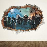 Pegatina pared Harry Potter