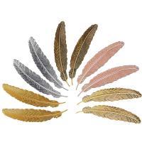 Marca paginas metal con forma de pluma