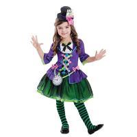 Disfraz de sombrerero niña