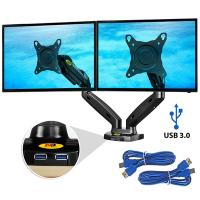 Brazo 2 monitores con USB