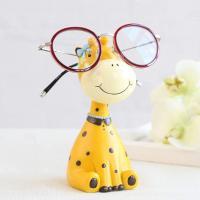 Soporte de resina con forma de girafa