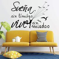 Letras en vinilo para pared