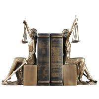 Sujetalibro dorada justicia