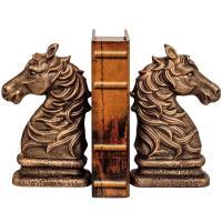 Sujetalibros caballo antiguo
