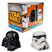 Sujetalibros Darth Vader y Stormtrooper