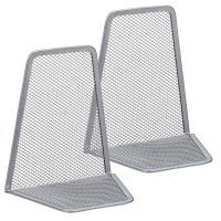 Sujetalibros de metal gris