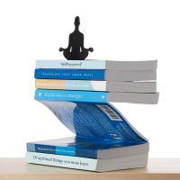 Sujetalibros meditación levitando