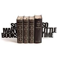 Sujetalibros Tantos libros y tan poco tiempo