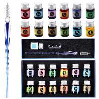 Tinta multiculor para escribir con pluma