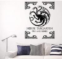 Vinilo Casa Targaryen GOT