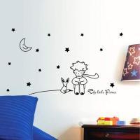 Vinilo El Principito estrellas y luna