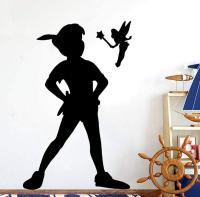 Vinilo Peter Pan y Campanilla