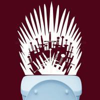 Vinilo WC Juego de tronos