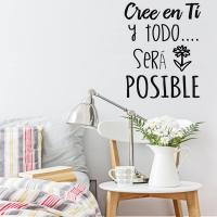 Vinilos pared frases motivadoras